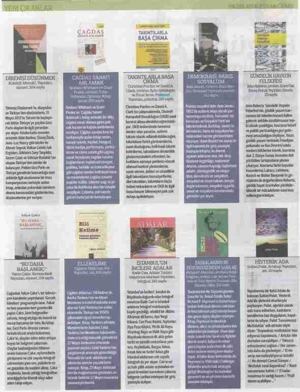 Takıntılarla Başa Çıkma - Radikal Kitap Eki - 9 Ağustos 2013